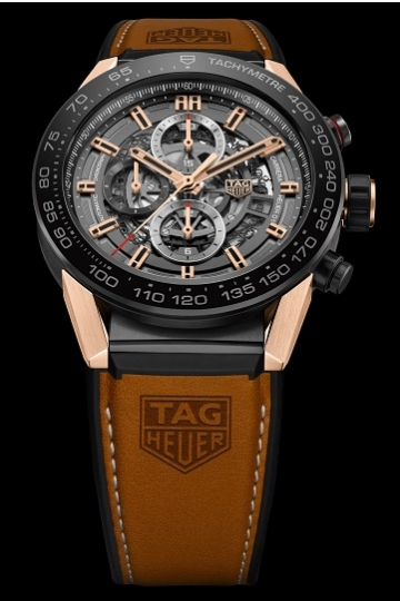 TAG Heuer CARRERA HEUER-01 Rose Gold